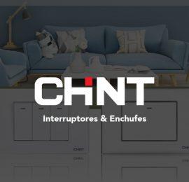 Portada Productos CHINT Interruptores y Enchufes