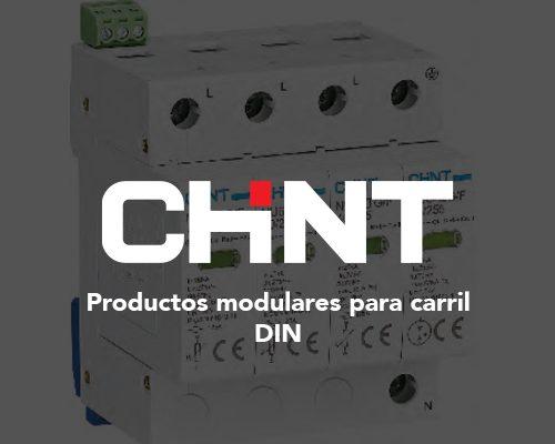 Portada productos modulares para carril DIN